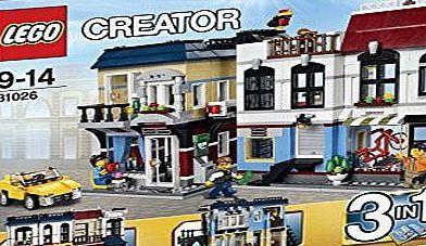 LEGO Creator 31026: Bike Shop and Café No description (Barcode EAN = 4053893767839). http://www.comparestoreprices.co.uk/latest1/lego-creator-31026-bike-shop-and-café.asp