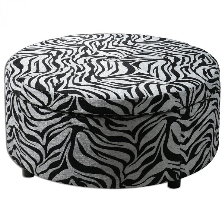 Shop For Uttermost Zea Zebra Storage Ottoman And Other Living Room Ottomans At Union Furniture In UnionMissouri Generous With Padded