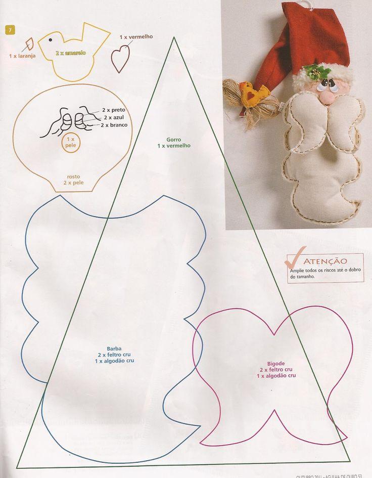 aporte navidad con moldes, de la web