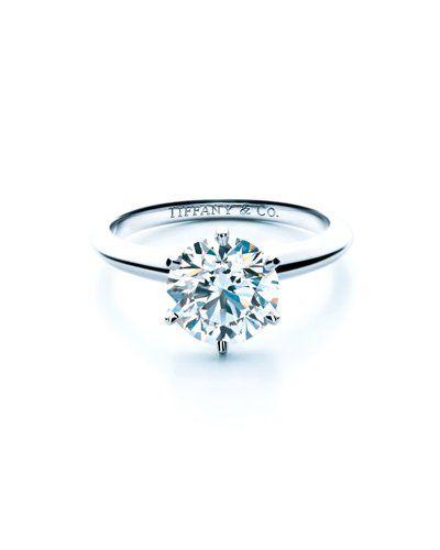 Der Ring, von dem kleine Mädchen träumen: klassischer Verlobungsring von Tiffany