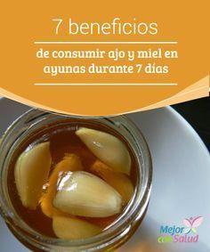 7 beneficios de consumir ajo y miel en ayunas durante 7 días El ajo es uno de los ingredientes naturales más utilizados en la gastronomía mundial. Su particular sabor se aprovecha junto con otros condimentos para realzar el gusto de muchos platos.