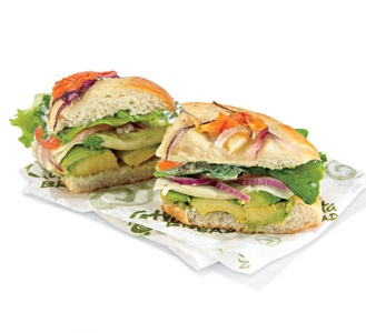 Atlanta Bread Company~California Avocado Sandwich....HEAVEN!