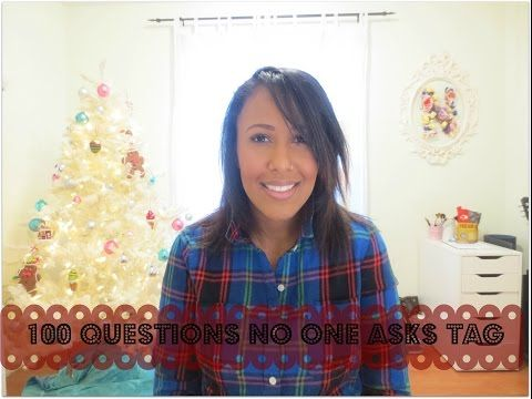 100 Questions No One Asks Tag | Ms Nicole Fiona - YouTube