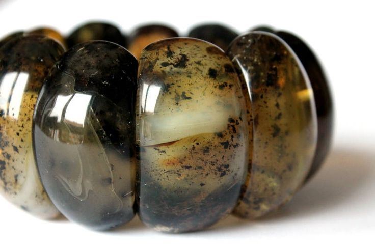 Black big amber bracelet, natural Baltic amber, massive amber bracelet, large gemstone beads, dark amber beads, natural amber gift idea by AmberDesign8 on Etsy