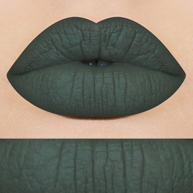 ENCHANTED FOREST GREEN  WELCOME BACK SHADEVegan Cruelty FreeHigh PigmentationNo Animal Testing Hand Crafted Opaque Matte CoverageKiss Proof6.5g / .22 ozMade In TexasAPPLICATION TIPS:  Make sure lips are exfoliated and primed before applying lipstick. Avoid oily foods as much as possible. Oil will act as a removing agent. This will then result in more frequent touch ups. Enjoy!​INGREDIENTS;Isododecane, Silicone Resin (Trimethylsiloxysilicate, Polypropylsilsesquioxane), Carnauba Wax, Squalene…