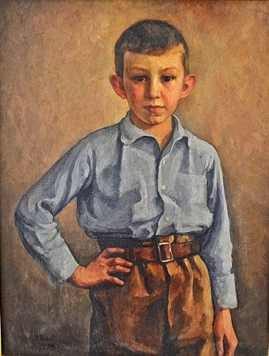 Camil Ressu (1880-1962) Portret / Portrait