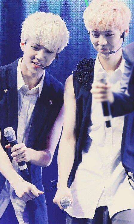 exo sehun luhan they look like twins <3