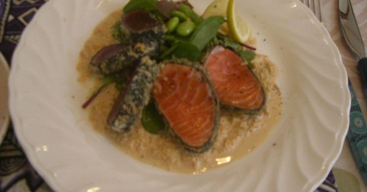 本格ハワイレシピ!マグロ(AHI)とサーモンを使いレアなフライを作ります。かなり好評な料理です。