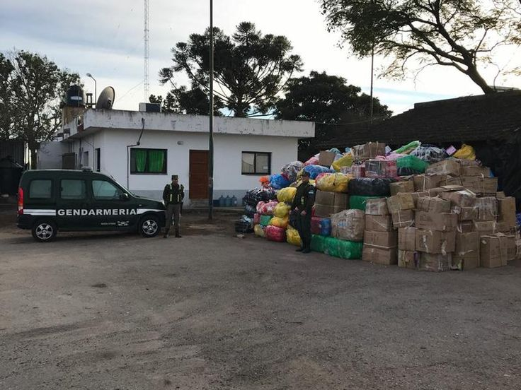 Secuestraron mercadería por más de 2 millones: Personal de Gendarmería Nacional incautó mercancía por $ 1.845.000 en El Naranjo y $245.000…