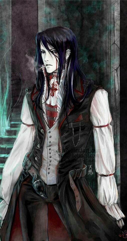 noble beautiful being vampire demon beyondsight
