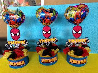 DECORACIONES INFANTILES: spiderman