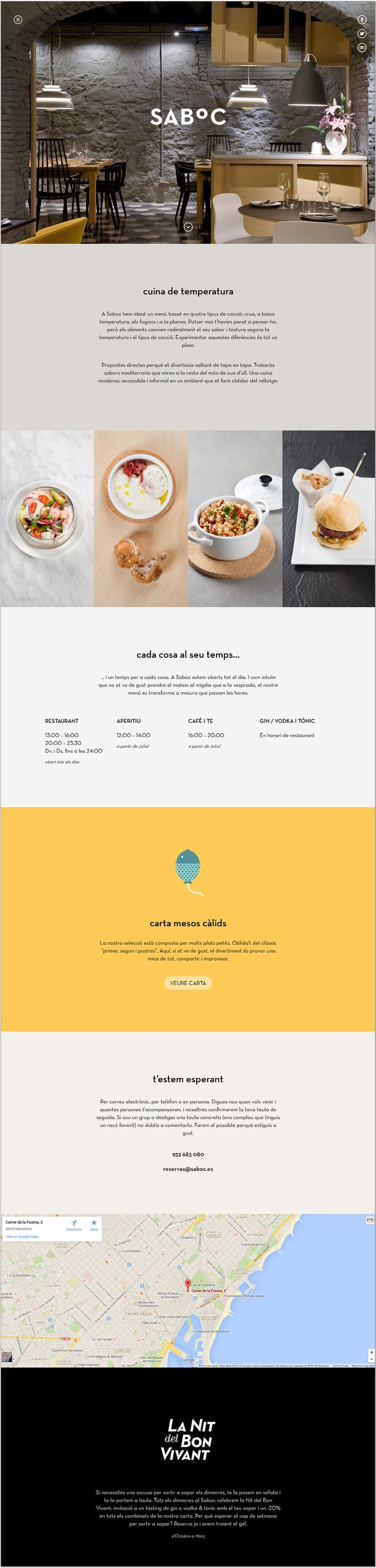 This website design is very simple and elegant. I really like how they formatted the text and I also think that the way they fit four photos of the product side-by-side works very well.