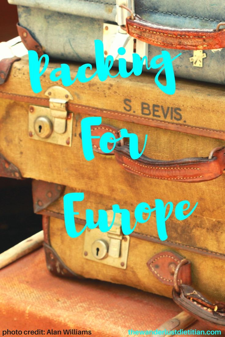 Going on a trip to Europe soon? Review our packing list and see a minimalist packing for Europe. Read how to pack for Europe with a carry on. ************************ Packing for Europe, What to bring to Europe, packing checklist, what to bring on airplane, #europe #packingforeurope, #packingchecklist