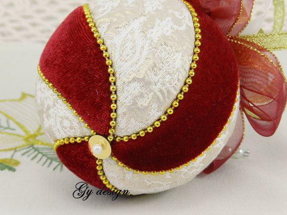 Spirale dell'albero di Natale ornamenti kimekomi natale di Gydesi