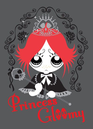 Ruby Gloom- Princess by MHSU on DeviantArt