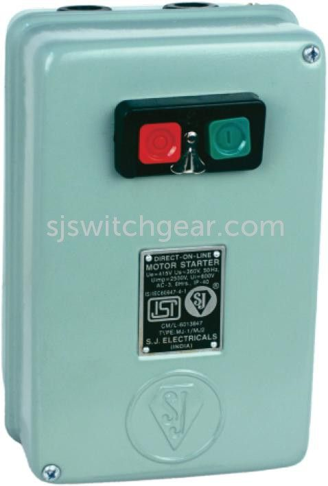 Manufacturer and  Distributor / Wholesaler of D.O.L Starter 3 Phase with ISI mark in India. Find High Quality D.O.L Starter 3 Phase with ISI mark from S. J. Switchgears Pvt. Ltd on www.pepagora.com