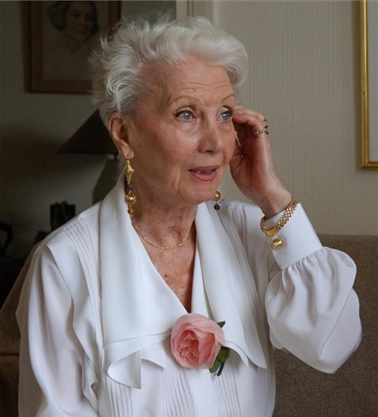 Lucienne Legrand (age 92) actress model, Nord, France