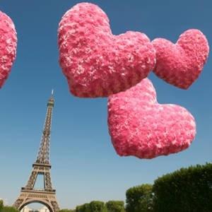 PARISRose Gold Jewelry, Pink Pink Pink, Valentine Day, Eiffel Towers, Paris Apartments, Pink Heart, Pinkpinkpink, Rosehip, Roads Trips