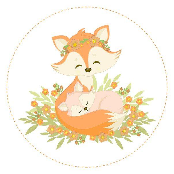 Которые можно, открытка на день матери лисенок с цветком шаблоны
