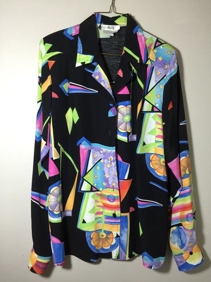 A personal favorite from my Etsy shop https://www.etsy.com/ca/listing/254696059/womens-late-80-neon-bright-colours-black