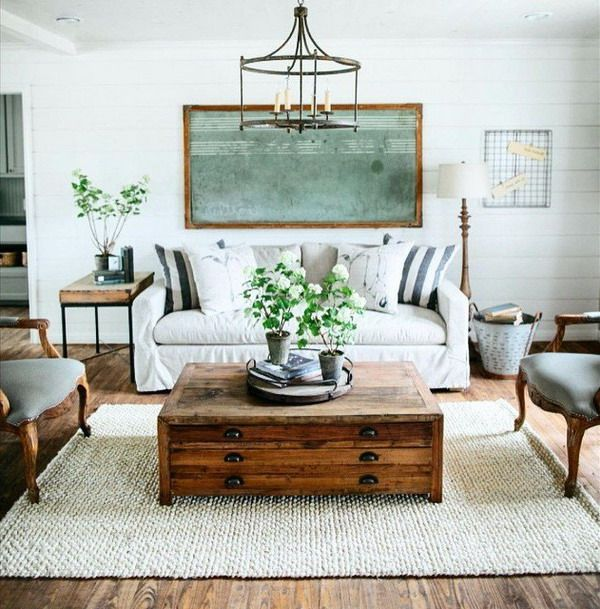 Home Decoration Trends 2019 Modern Farmhouse Living Room