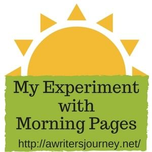 This past week, I've explored an exercise called Morning Pages. Julia Cameron of The Artist's Way explains writing three pages, each morning, in longhand, is a great way to clarify your thoughts an…