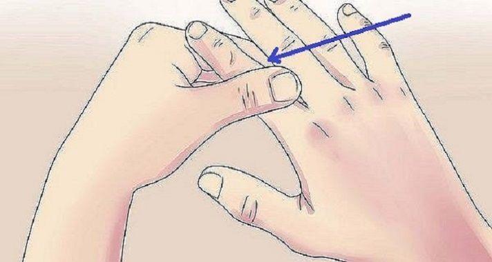 Incrível: massageie este dedo por 60 segundos e veja o que acontece no seu corpo | Cura pela Natureza