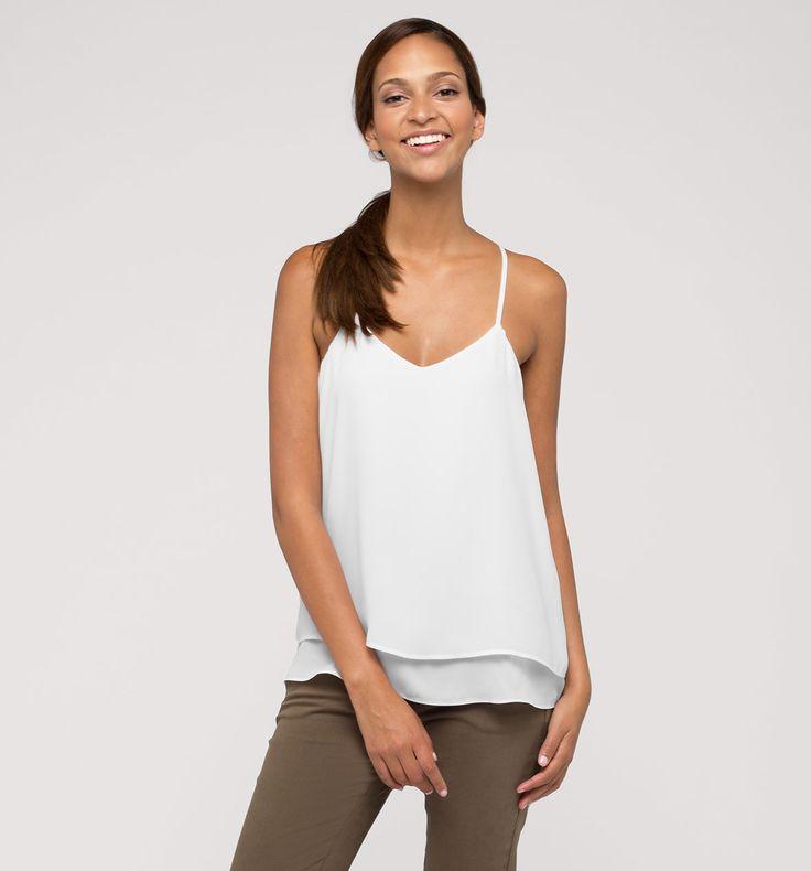Sklep internetowy C&A | Top bluzkowy, kolor:  biały | Dobra jakość w niskiej cenie
