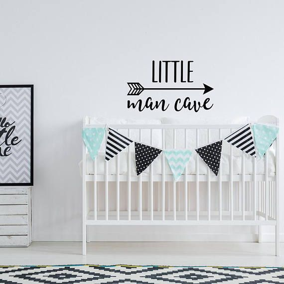 Little Man Cave Wall Decal Nursery Decor - Woodland Nursery Wall Decal - Arrow Nursery Decals Kids Wall Quotes - Boys Room Wall Decal Quote ¨°º©©º°¨¨°º©©º°°¨¨°º©©º°¨¨°º©©º°°¨¨°º©©º°¨ • 22 wide by 13 tall • 28 wide by 17 tall • 32 wide by 19 tall • 36 wide by 22 tall If you need