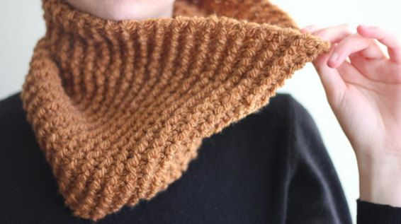 The one with the mustard cowl by winkitywink on Etsy