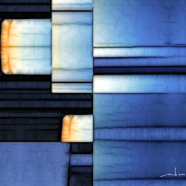 Tales Of The Seven Seas  Digital Artwork over original photo 50 x 50 cm  rcn