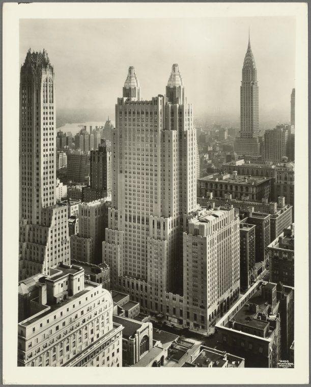 301 Park Avenue - East 49th Street [The Waldorf-Astoria Hotel]. 1931. NYPL Digital Gallery.