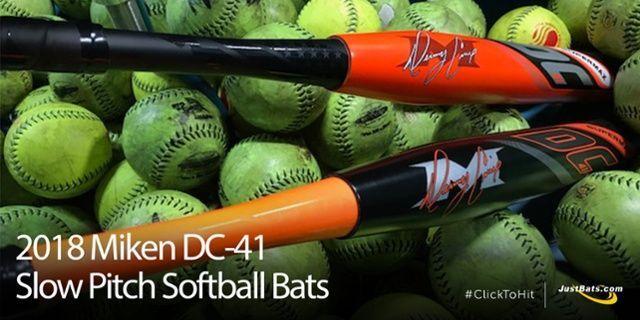 Miken DC-41 2018 slowpitch softball bat reviews from real customers only at JustBats.com! #BestBaseballCloseoutBats
