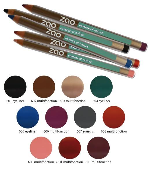 Kredki do oczu, brwi i ust ZAO MAKE-UP ORGANIC - Odkryj nowy asortyment ołówków o. intensywnych i głębokich kolorach, które podkreślą Twoje oczy, brwi lub kontur warg. Miękkie i delikatne, łatwe do makijażu. Certyfikowane, organiczne, przyjazne dla skóry, idealne dla wrażliwych oczu i skóry (idealne dla osób noszących soczewki kontaktowe). http://biolander.com/produkty/producent/zao-make-organic/