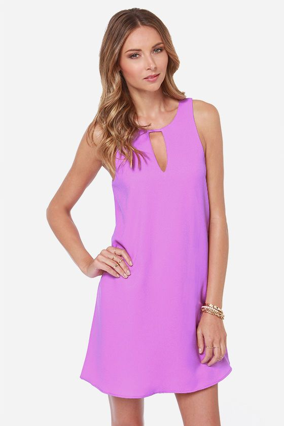 In a Good Light Purple Dress at LuLus.com - Made In The USA - $43