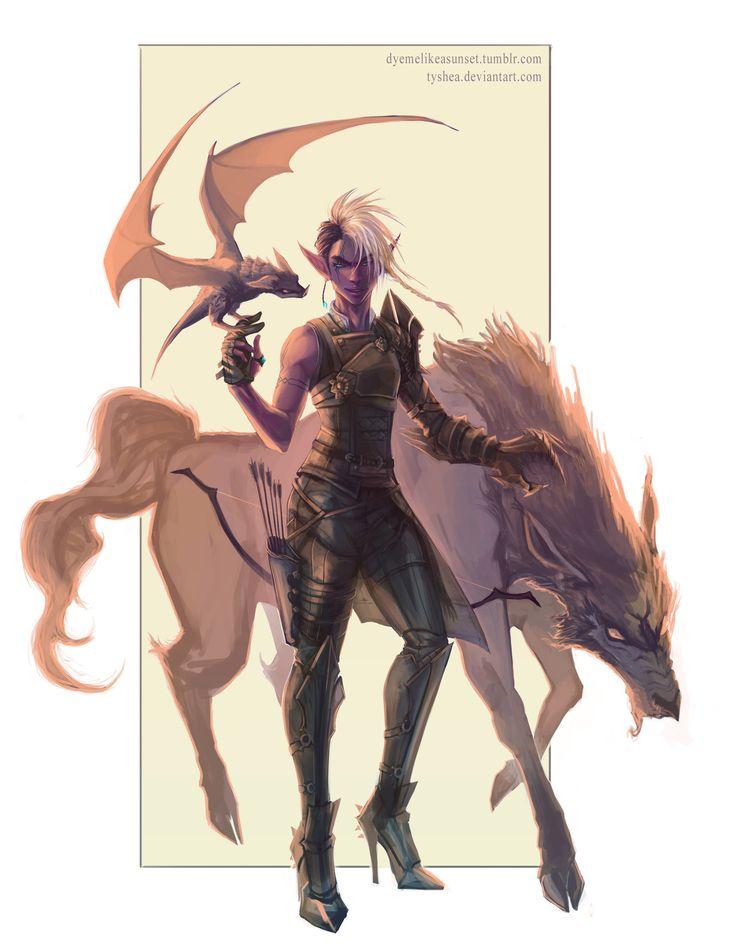 A warg AND a mini dragon! o_O
