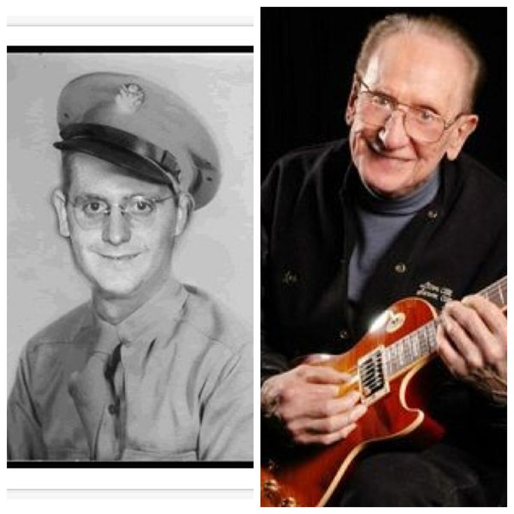 Les Paul-Army-1943-WW2-Armed Forces Radio Network (Musician, Inventor, Songwriter)