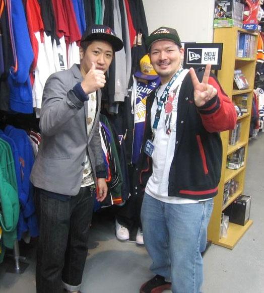 【新宿2号店】 2013年3月14日  清水 天翔様デス。        JORDANのCAPをご購入頂きました。    すごく面白いネタで笑わせていただきありがとうございました。    また、笑わせに来てくださいね☆ #nba