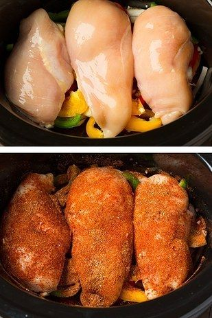 Slow-Cooker Chicken Fajitas | 15 Slow Cooker Recipes That Are Actually Healthy