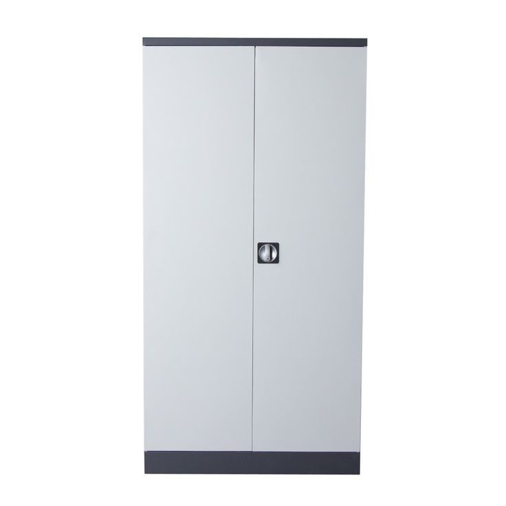 White Metal Storage Cabinets