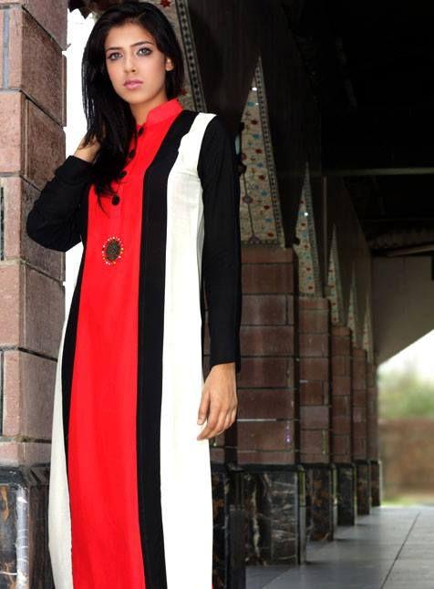 Dicha Eid Collection Digital Prints Kurtis for Women 2013 (7)