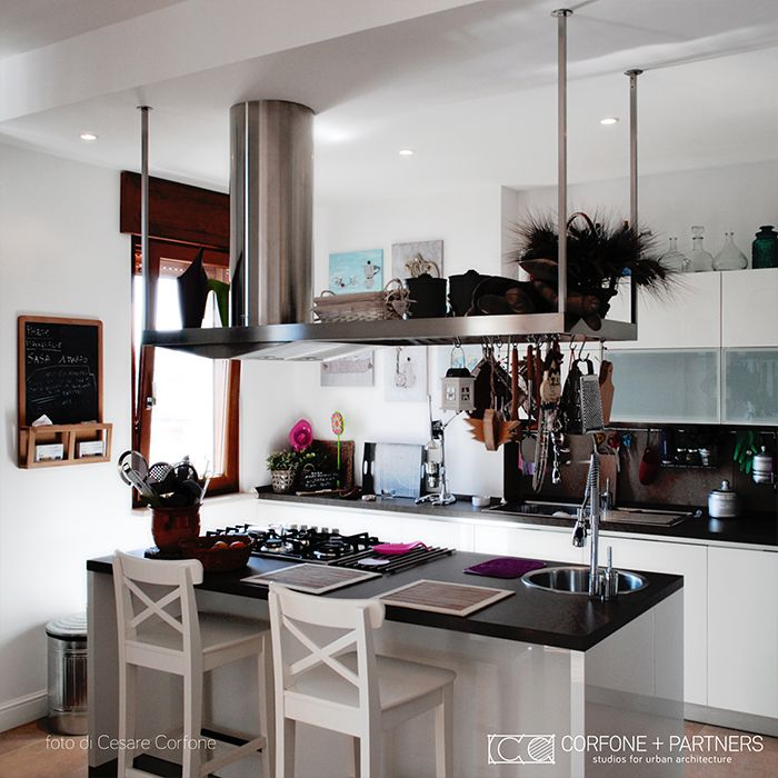 CORFONE+PARTNERS - Interior design kitchen - 2L HOUSE