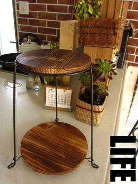 【DIY】インテリアにもなる!?100均の「鉢スタンド」のリメイクが意外と使える - NAVER まとめ