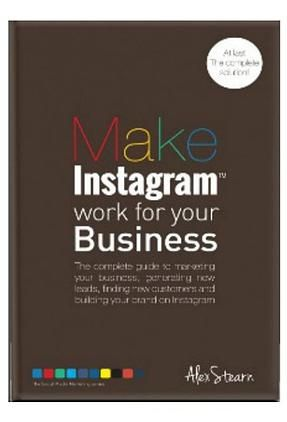 $4.86 £2.99 on Amazon 'Make Instagram Work for your Business' The Book. At Last the complete solution ! This book aims to demystify  Instagram marketing and teach you step-by-step the principles, strategies and tactics to make Instagram work for your business. Identify and find your ideal customers, Generate and capture new leads, Drive traffic to your website, Increase sales conversions, Build your brand.