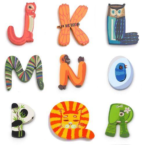 Djeco Animal Letters