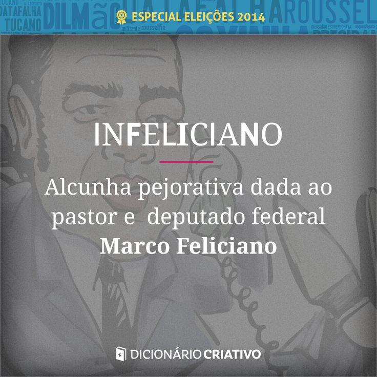 Apelido pejorativo do pastor e deputado federal Marco Feliciano