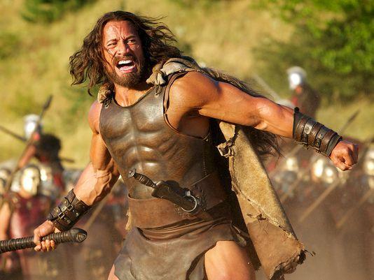 Dwayne Johnson is Hercules