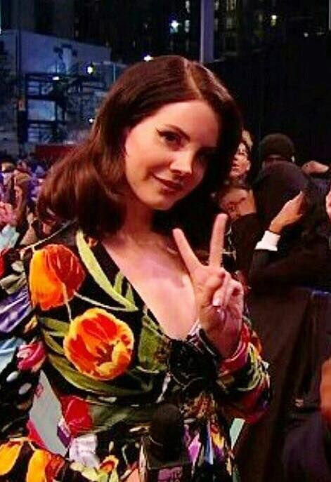 Lana Del Rey Brings Flower Power to the MTV EMAs 2017!