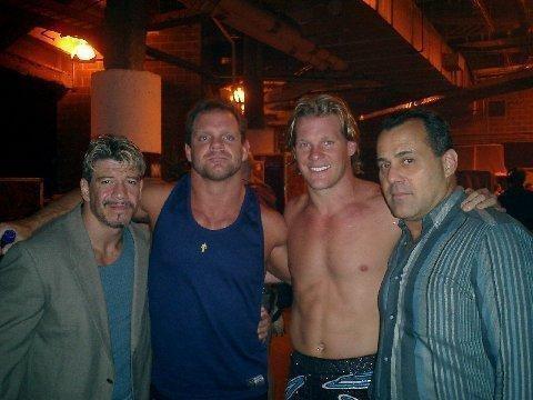 Eddie Guerrero, Chris Benoit, Chris Jericho, & Dean Malenko