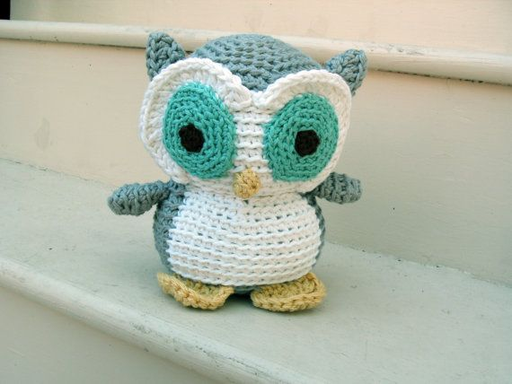 Crochet owl..the cutest little guy or girl!: Animal Patterns, Crochetowl, Crochet Animal, Crochet Amigurumi, Crochet Stuffed Animal, Crochet Owl, Crochet Knits, Owl Patterns